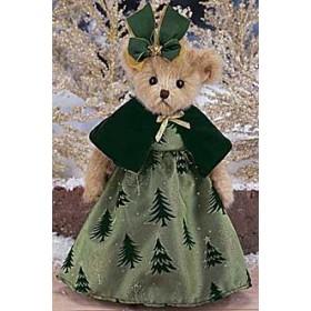 """Мишка """"Bearington"""", платье в елочку"""