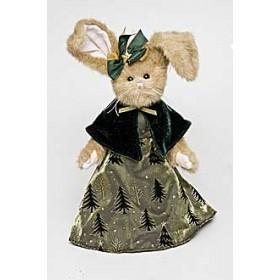"""Зайка """"Bearington"""", платье в елочку"""