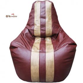 """Кресло-мешок """"Спортинг"""", бордовый"""
