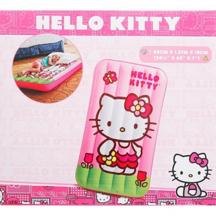 """Кровать надувная """"HELLO KITTY"""", от 3 до 10 лет"""