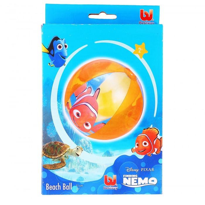 Мяч пляжный Finding Nemo d= 51см, от 2+