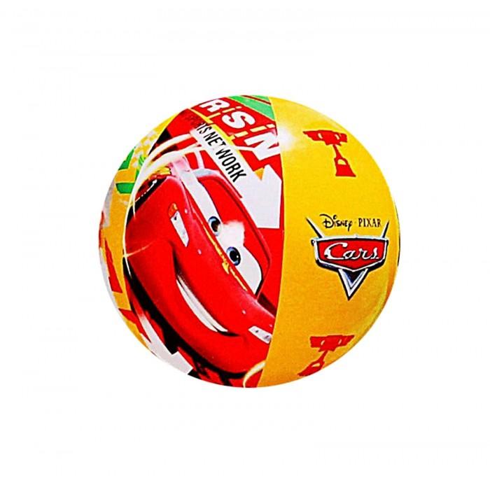 Мяч пляжный Тачки 61 см, от 3 лет