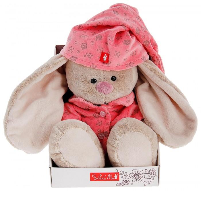 """Мягкая игрушка """"Зайка Ми"""" в розовой пижаме, большая"""