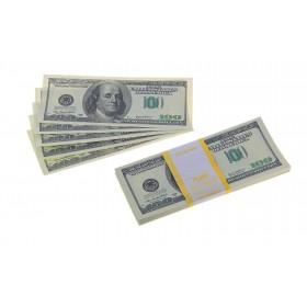 Пачка купюр 100 $
