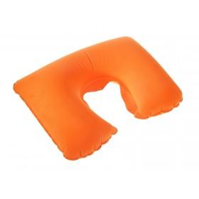 Подушка надувная для путешествий, оранжевая