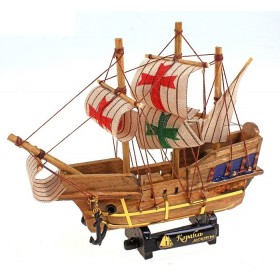 Корабль сувенирный малый, мальтийский