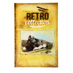 "Ежедневник ""Train. Серия Retro Collection"" 96 листов"