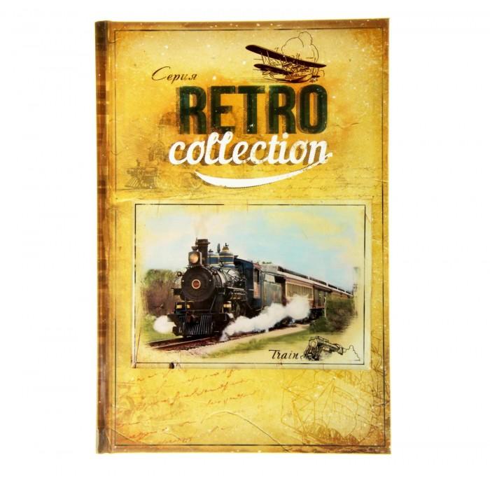 """Ежедневник """"Train. Серия Retro Collection"""" 96 листов"""