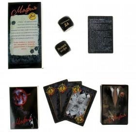 "Игра ""Мафия"": карты и 2 кубика"