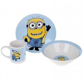 """Набор детской посуды """"Миньон"""" 3 предм."""