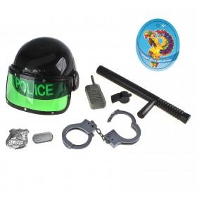 """Набор игровой """"Полиция"""" со шлемом, 7 предметов"""