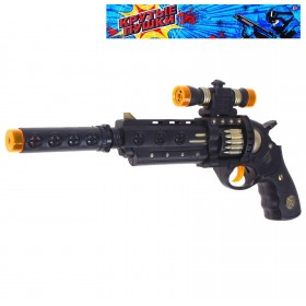 """Пистолет """"Спецназ"""", световые эффекты, от батареек"""