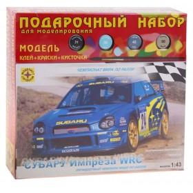 """Сборная модель """"Автомобиль Субару Импреза WRC"""" 1:43"""