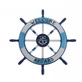 Штурвал Welcom aboard