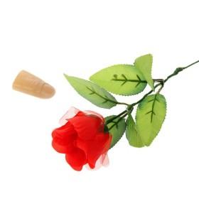 Фокус роза с пальцем