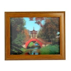"""Ключница 3D """"Мост через реку"""""""