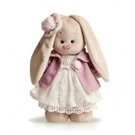 """""""Зайка Ми"""" в фиолетовом пальто и белом платье, малая"""