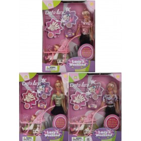 Кукла Defa Lucy c аксессуарами,20958