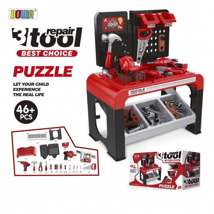 Набор инструментов игрушечный Bowa Умелые руки 8012