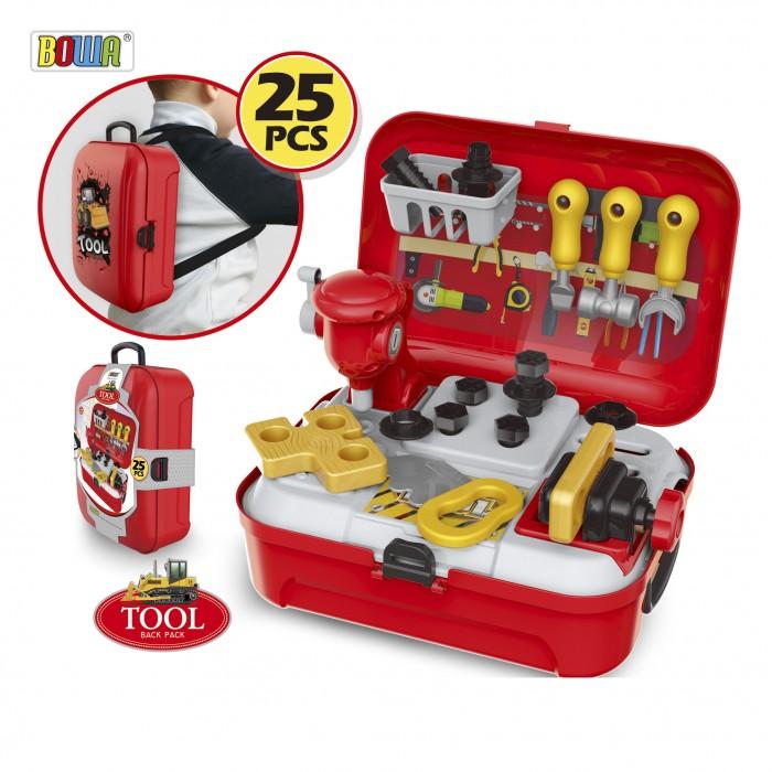 Набор инструментов в рюкзаке, 25 предметов