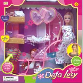 Беременная кукла от бренда Defa Lucy