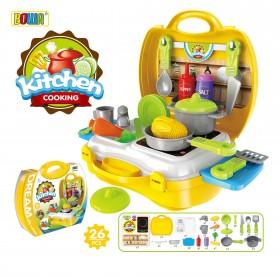 """Игровой набор """"Кухня Шефа"""" в чемоданчике"""