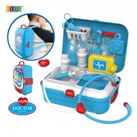 """Игровой набор """"Доктор"""" в чемодане-рюкзаке"""