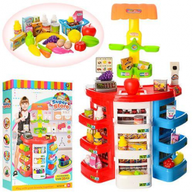 Игровой набор «Супермаркет», 38 предметов