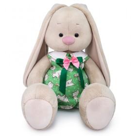 Зайка Ми большой в комбинезоне с кроликами